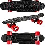 Flybar 22 Inch Complete Plastic Cruiser Skateboard Custom Non-Slip Deck Multiple Colors