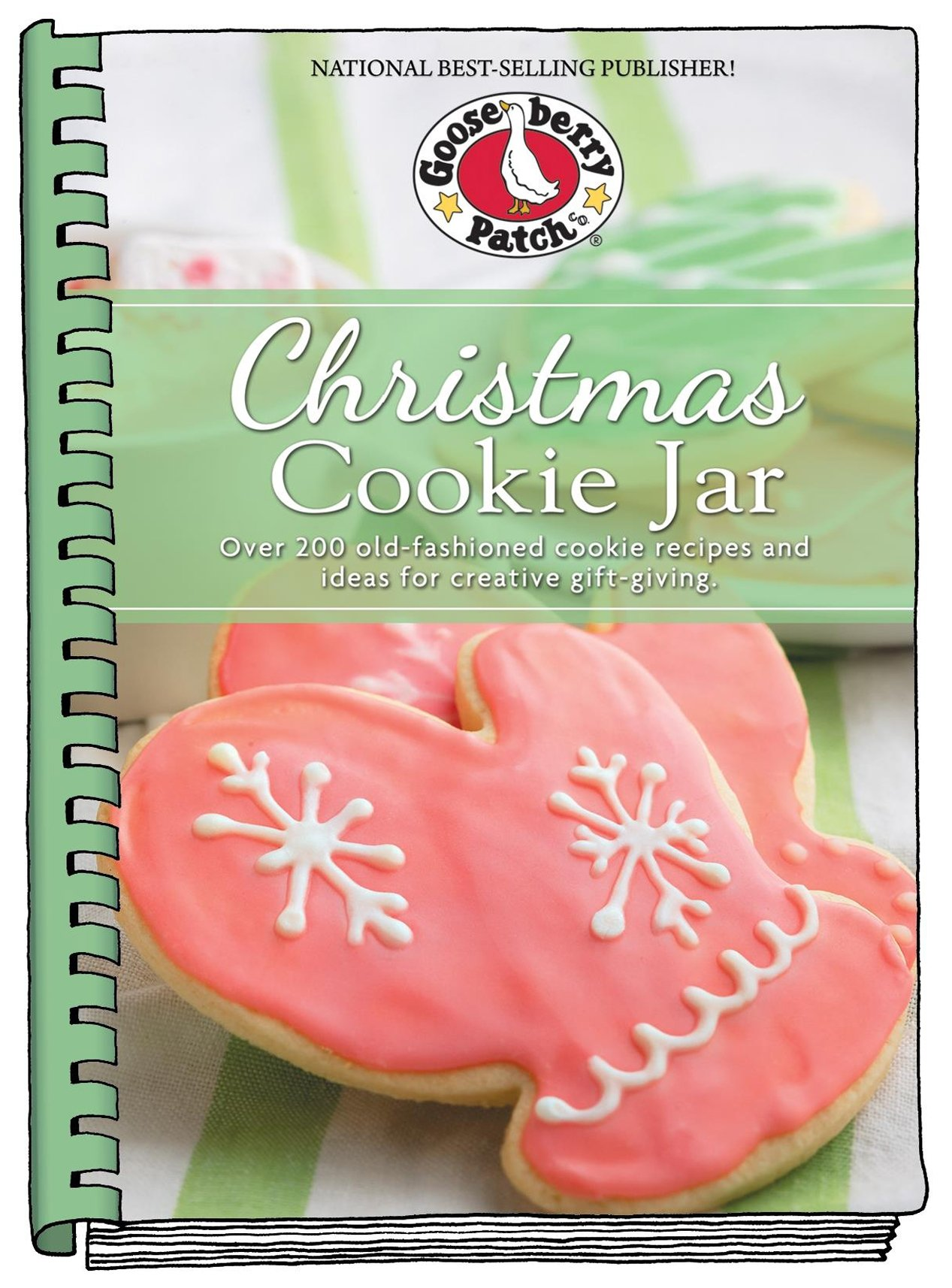 Christmas Cookie Jar: Over 200 Old-Fashioned Cookie Recipes and ...