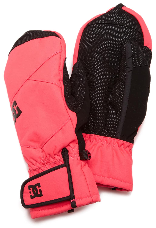 DC Womens Lear Glove (Black/Fluorescent Gogi) Women's Gloves 64670025