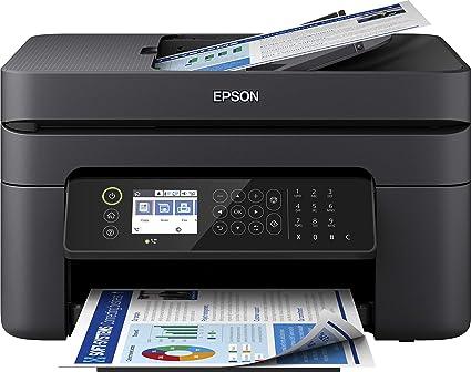 Epson Workforce Wf 2850dwf Stampante A Colori Wi Fi Usb Anche Da Mobile Multifunzione 4 In 1 Display Lcd Da 6 1 Cm Funzioni Per La Stampa In Ufficio Amazon It Informatica
