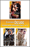 Harlequin Desire February 2020 - Box Set 1 of 2