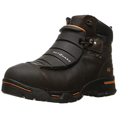 """Timberland PRO Men's Endurance 6"""" Steel-Toe EX MetGuard Industrial and Construction Boot 