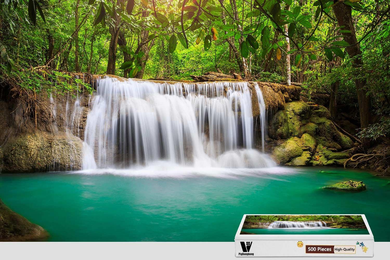 2018セール pigbangbang、20.6 – – X 15.1インチ、木製Largeサイズ X – Rainforest Waterfall – 300ピースジグソーパズル B07FLLC4P7, めでぃこむ屋:7389df69 --- 4x4.lt