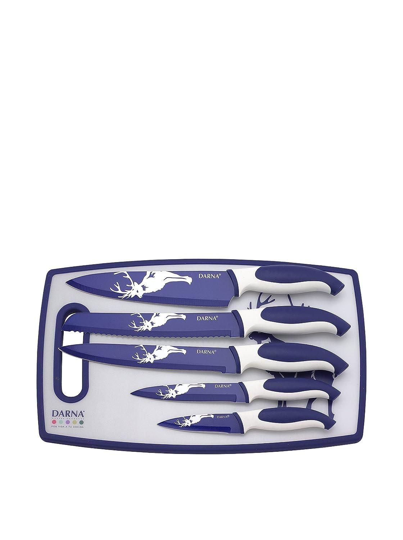Compra DARNA DC-0081362A-Juego de 5 Cuchillos Revestido de ...