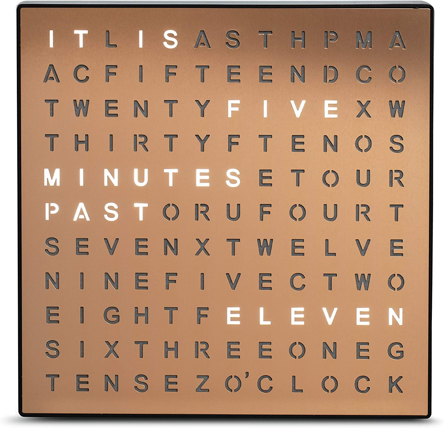 This Home Decor Tells You Time In Words Not In figure