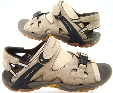 2b3eddf8c906 MERRELL MENS SANDALS NEW SIZE UK 12 EU 46 VIBRAM WALKING CASUAL HOLIDAY   Amazon.co.uk  Shoes   Bags