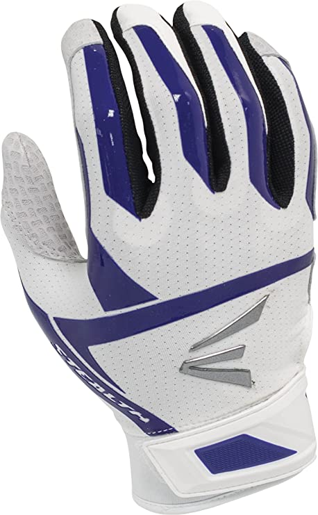 Easton Stealth Hyperskin Fastpitch Batting Glove - White Purple - Small -  A121367 07669875dc