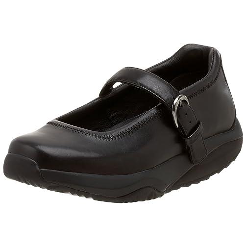 MBT Schuhe Schuhe Schuhe Damen Leder Gr. 39 2 3. Schwarz