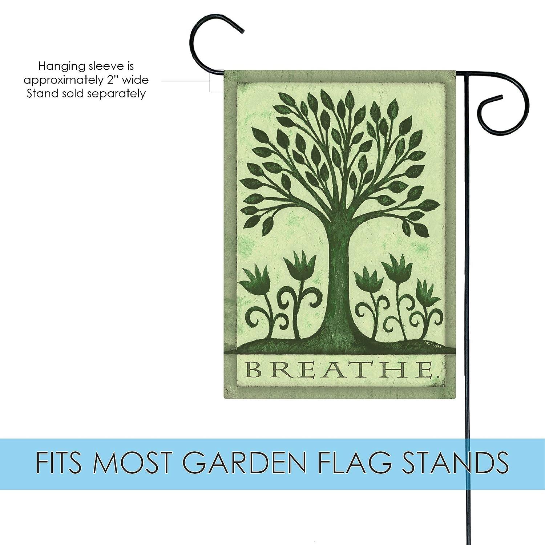 Amazon Toland Home Garden Breathe 12 5 x 18 Inch Decorative