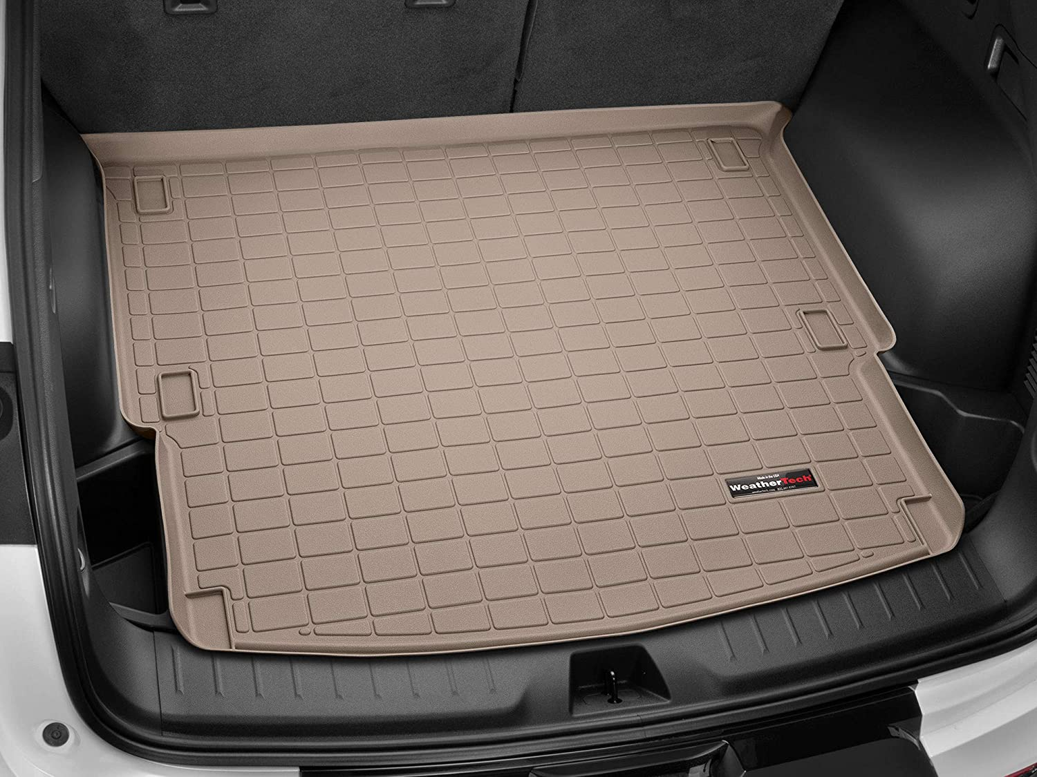 Weathertech Custom Fit Cargo Liners For Ford Expedition Tan Automotive Amazon Com