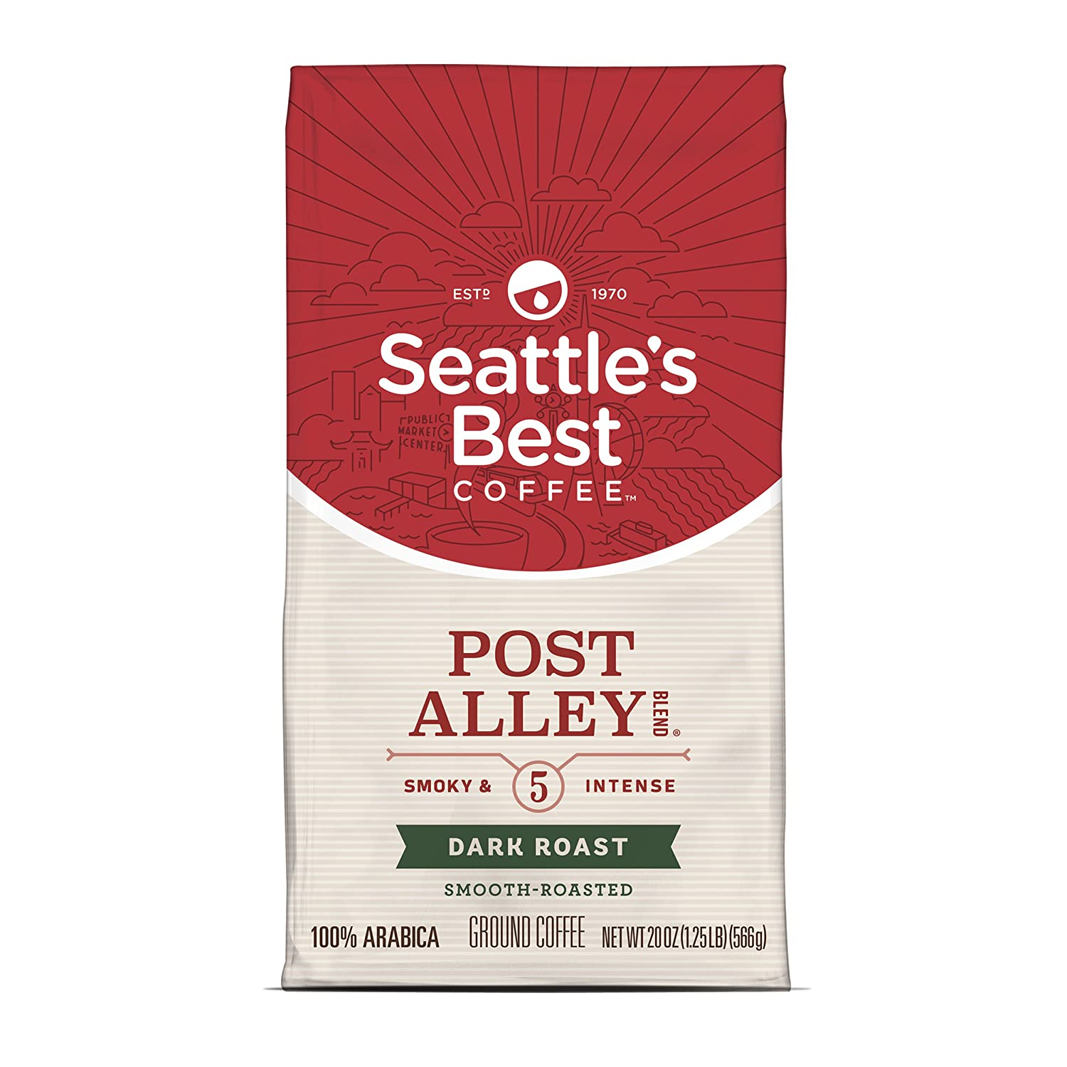 Seattle's Best Coffee Post Alley Blend