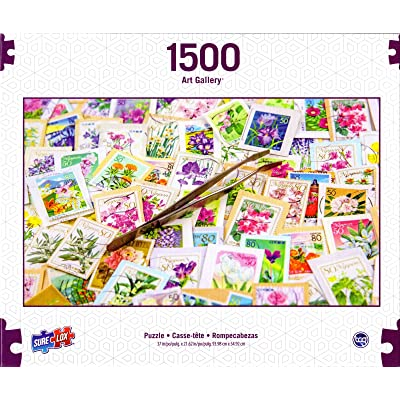 Art Gallery 1500: Stamp Collection Puzzle: Toys & Games
