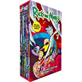 Rick and Morty The Graphic Novel Collection Volumes 1 - 10 Books Collection Box Set