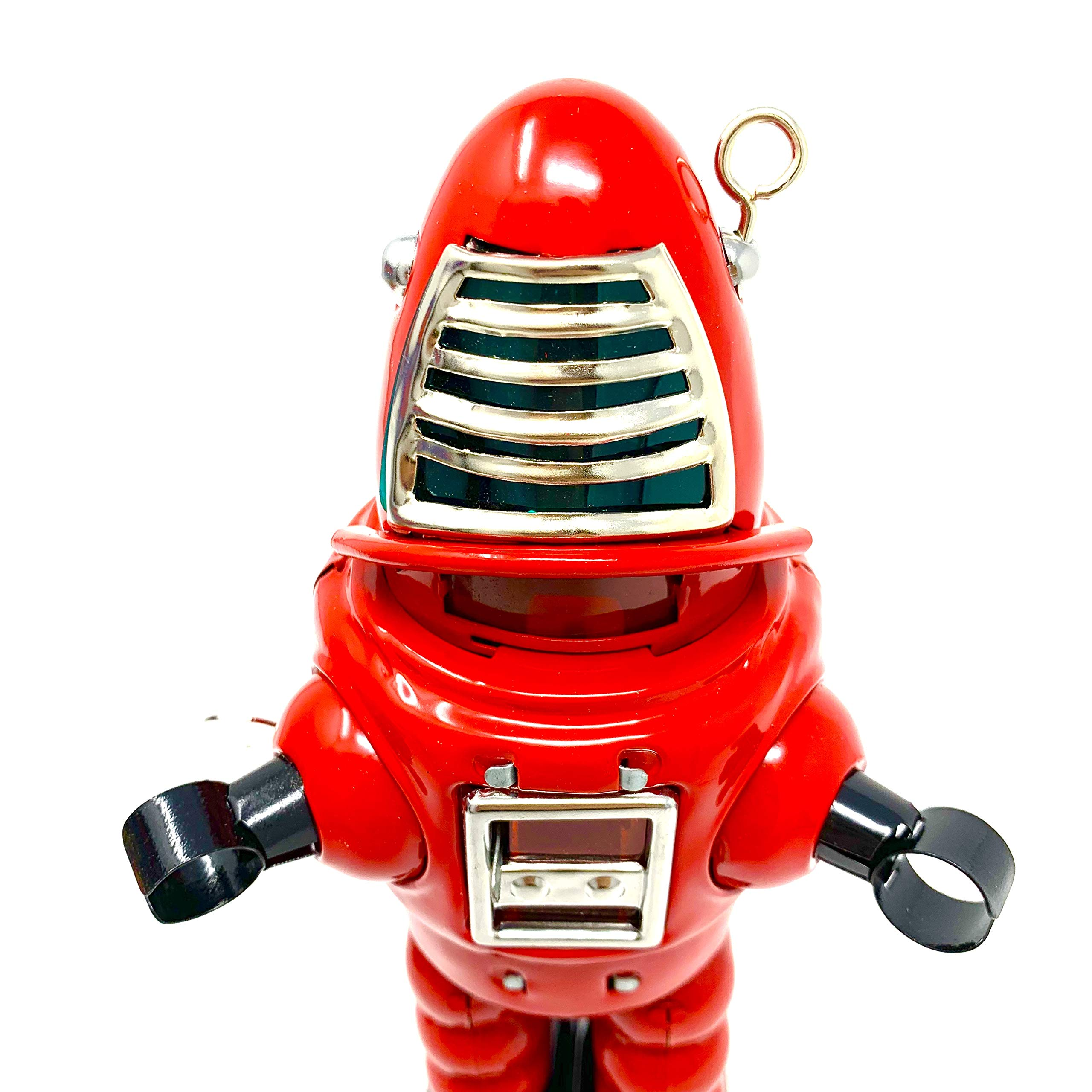 Off the Wall Toys Vintage Style Collectible Wind Up Red Planet Robot Wind Up 8.5'' MS430 by Off the Wall Toys (Image #6)