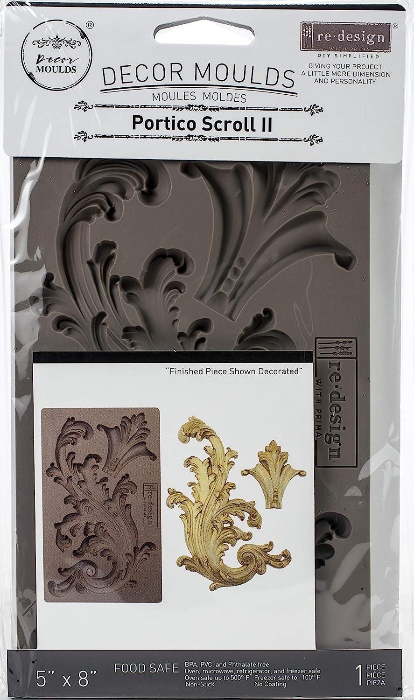 Prima Marketing Re-Design Mould 7.5X4.5X8mm-Portico Scroll 2