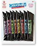 Chalktivity – Creativity in Action – Rainbow Refill 8 Pack of Powdered Chalk Colors