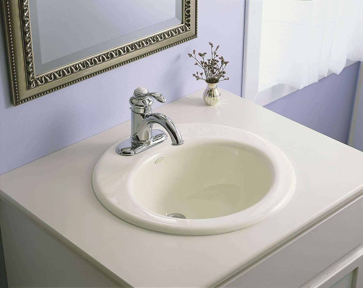 Etonnant KOHLER K 12181 CP Fairfax 4 In. Centerset Bathroom Sink Faucet With Single  Lever Handle, Polished Chrome   Touch On Bathroom Sink Faucets   Amazon.com
