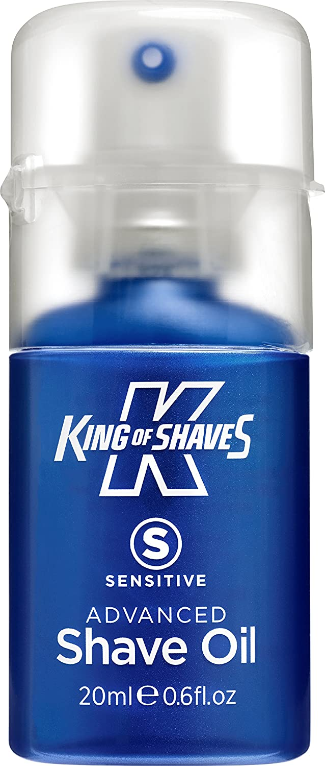 King of Shaves Kinexium Shaving Oil Sensitive, Silicon Bottle with Pump 20 ml Healthcenter 10118550