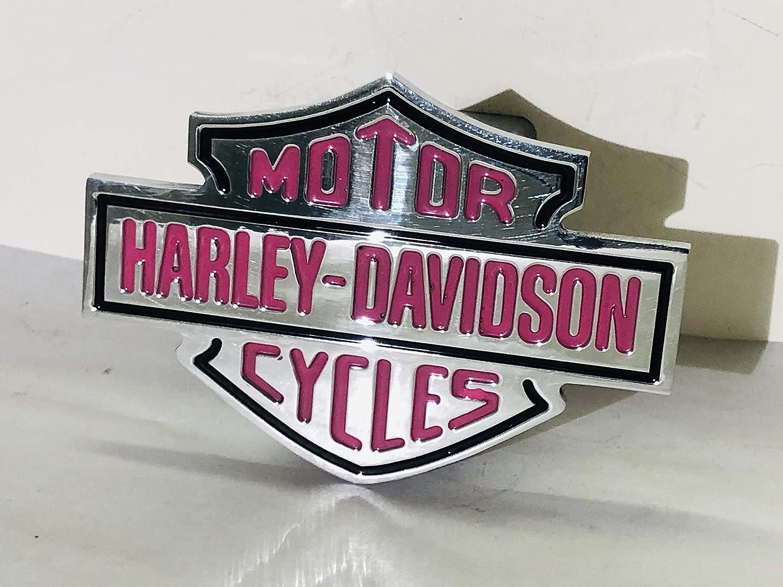 CMT Harley Davidson Hitch Cover Pink
