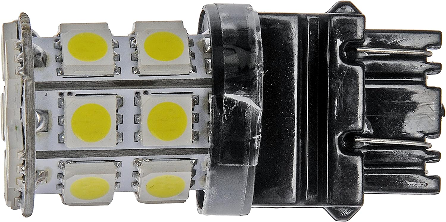 Amazon Com Dorman 3157w Smd White Led Turn Signal Light Bulb Pack Of 2 Automotive