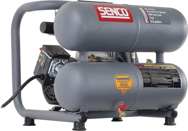 Senco PC0968 Compressor Renewed 1.5-Horsepower 2.5-Gallon PEAK