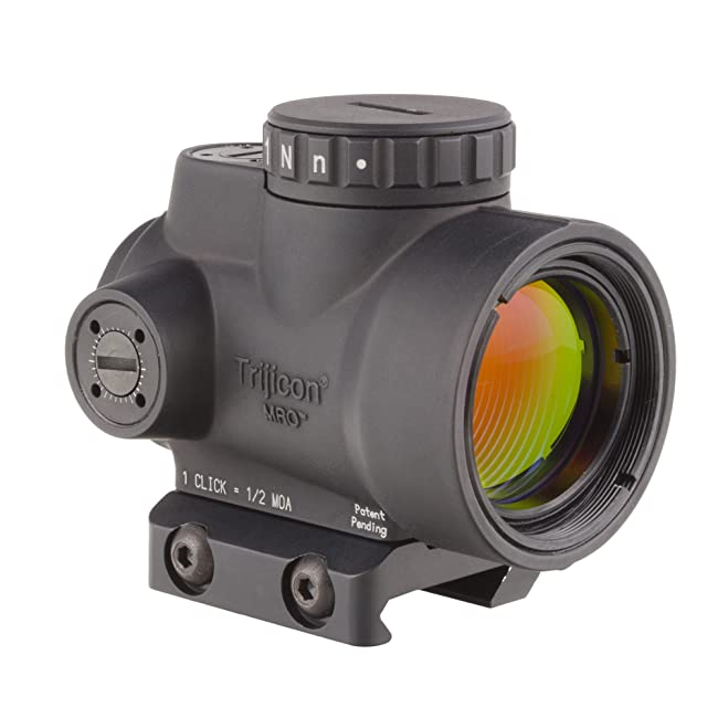 Trijicon 1x25 MRO 2.0 MOA Adjustable Red Dot review