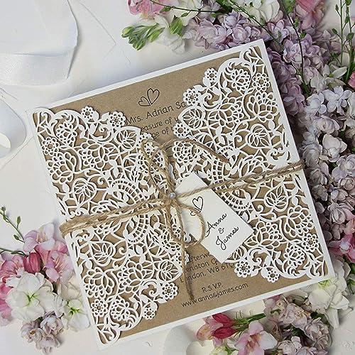 Rustikale Einladungen Hochzeit Hochzeitseinladungen Rustikal Ist