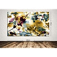 TabloCenter art216207562-6 Dev Boyut Çiçek Kanvas Tablo, 100x140cm