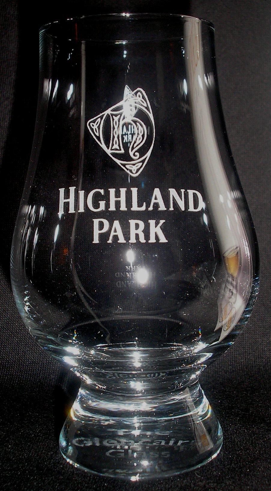 Highland Park Official Glencairn Scotch Malt Whisky Tasting Glass
