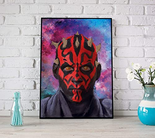 Star wars darth maul HD Canvas printed Home decor painting room Wall art poster