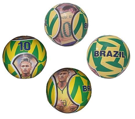 Forever fanatics Brasil Neymar # 10 balón de fútbol niños ...