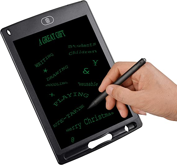 Enotepad LCD Writing Tablets for Kids Drawing Doodle Board 8.5 Inch Electronic Graphics for Children Portable Digital eWriter Blue