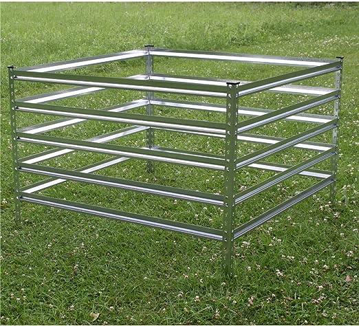Metal compostador galvanizado compostador Jardín Metal Kom Póster ...