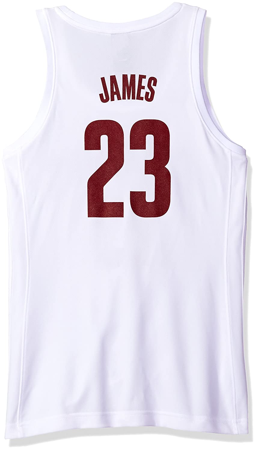 official photos 45ea3 56251 NBA Cleveland Cavaliers LeBron James #23 Women's Home Replica Jersey,  X-Large, White
