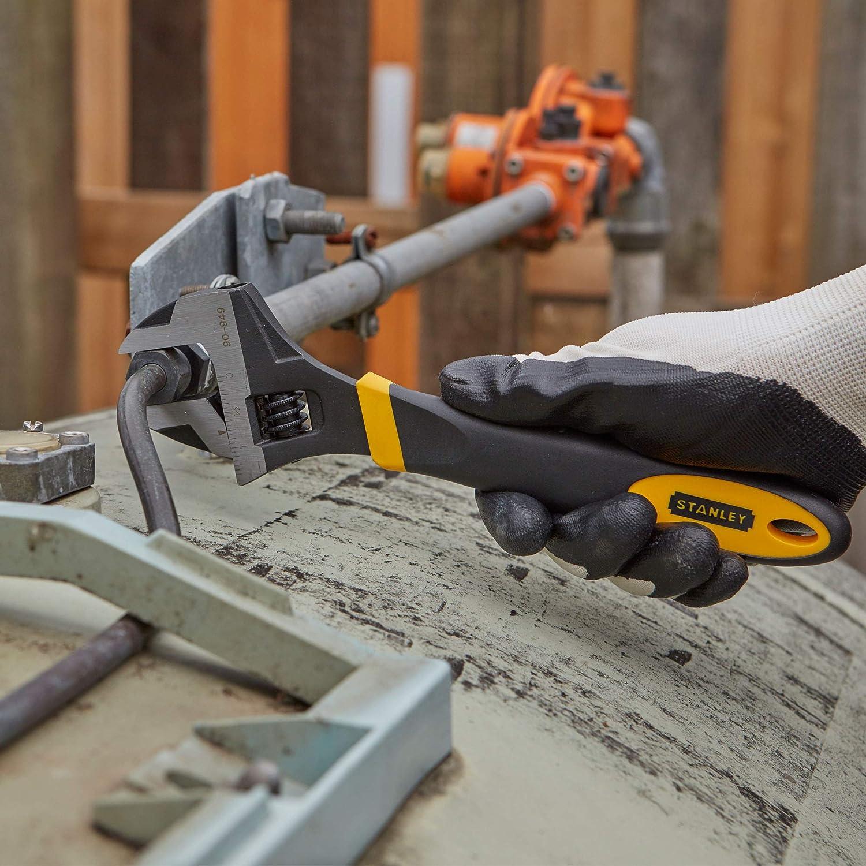 STANLEY 0-90-949 - Llave ajustable bimateria 250mm: Amazon.es: Bricolaje y herramientas
