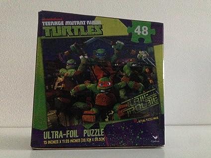 Amazon.com: Teenage Mutant Ninja Turtle Ultra Foil Puzzle 48 ...