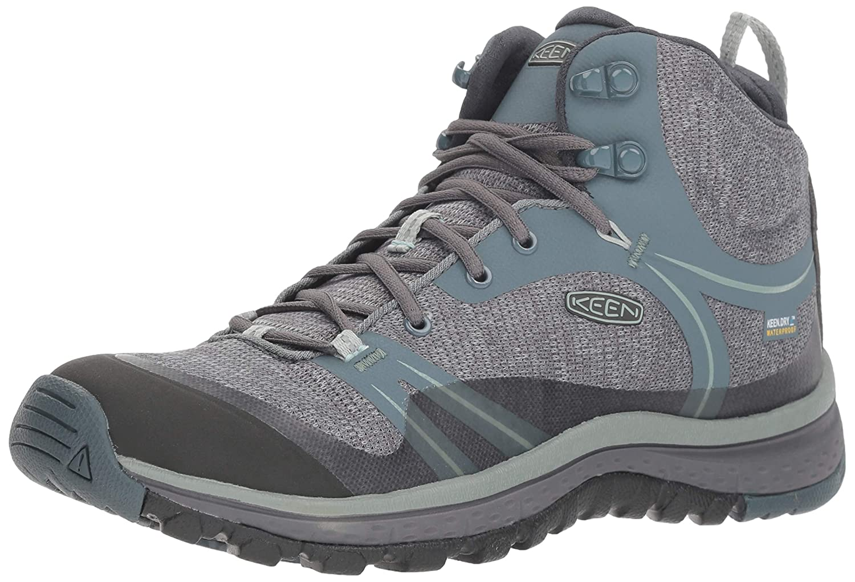 KEEN Women's Terradora Mid Waterproof Hiking Shoe B077KG8HWC 5 M US|Stormy Weather/Wrought Iron