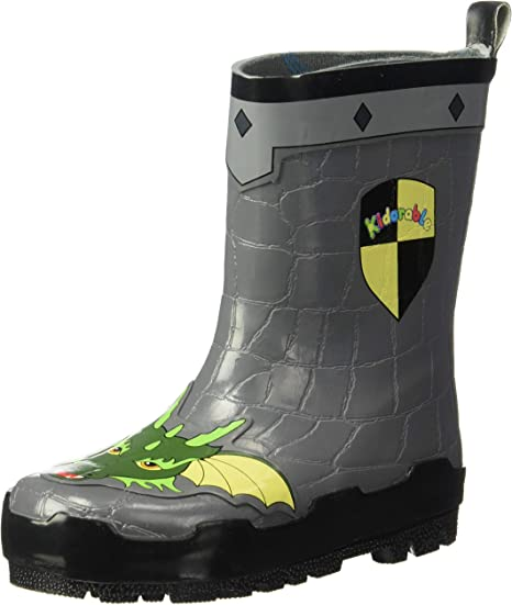 Kidorable Toddler//Little Kid Dinosaur Rain Boot