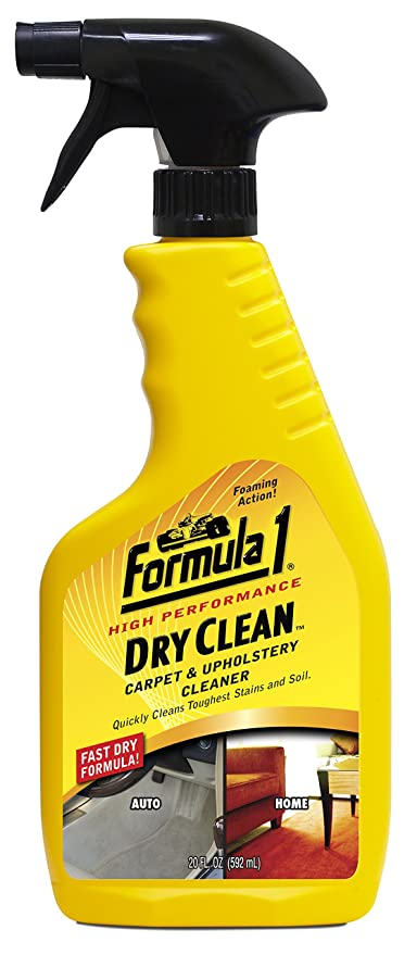 Formula 1 615150 Dry Clean Carpet And Upholstery Cleaner 592 Ml