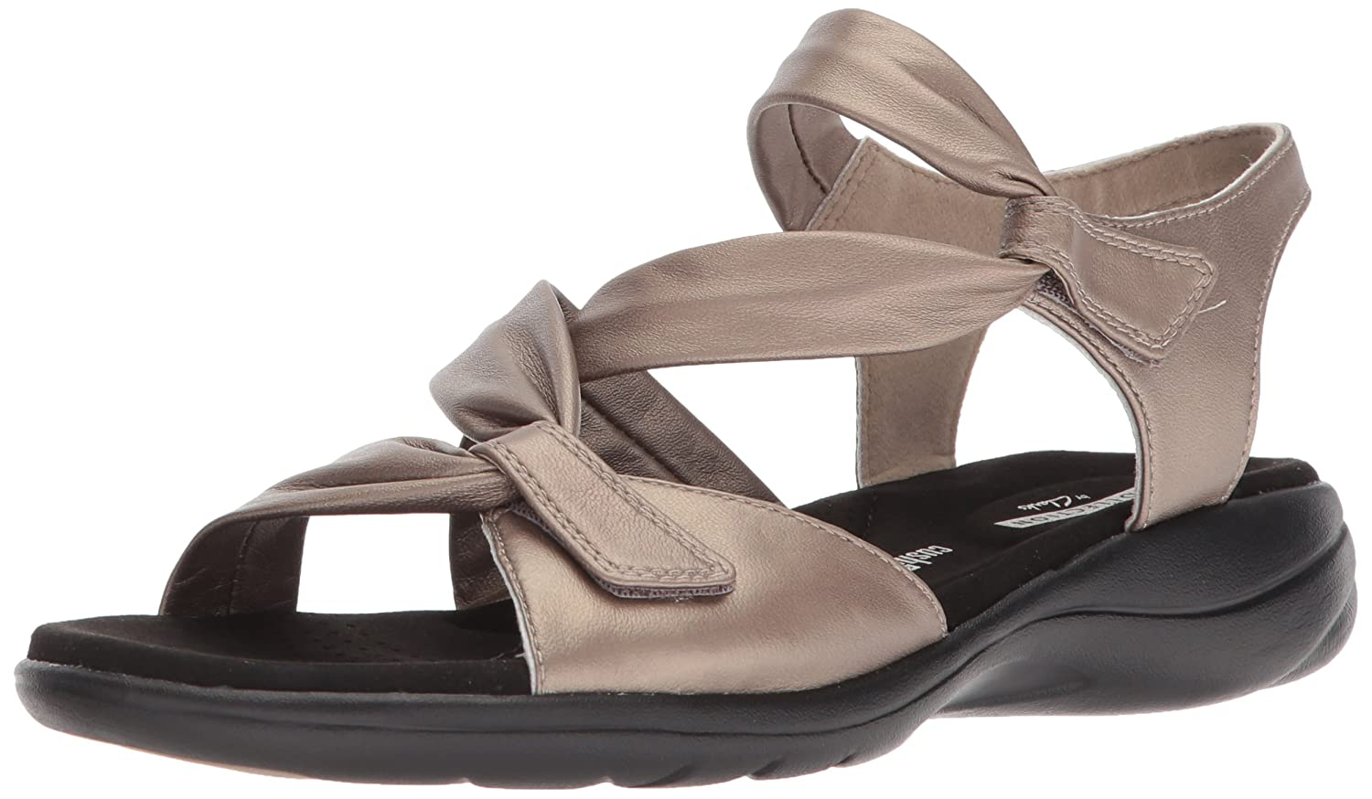 d88be994c Amazon.com | CLARKS Women's Saylie Moon Sandal | Flats