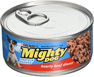 Mighty Dog Hearty Beef Dinner 5.5 oz (Pack of 24)