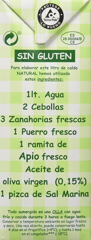 Aneto Caldo Natural de Verduras - 1 l: Amazon.es: Amazon Pantry