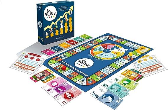 Value School Be Value   Juego de Mesa con Tablero de la colección: Amazon.es: Juguetes y juegos