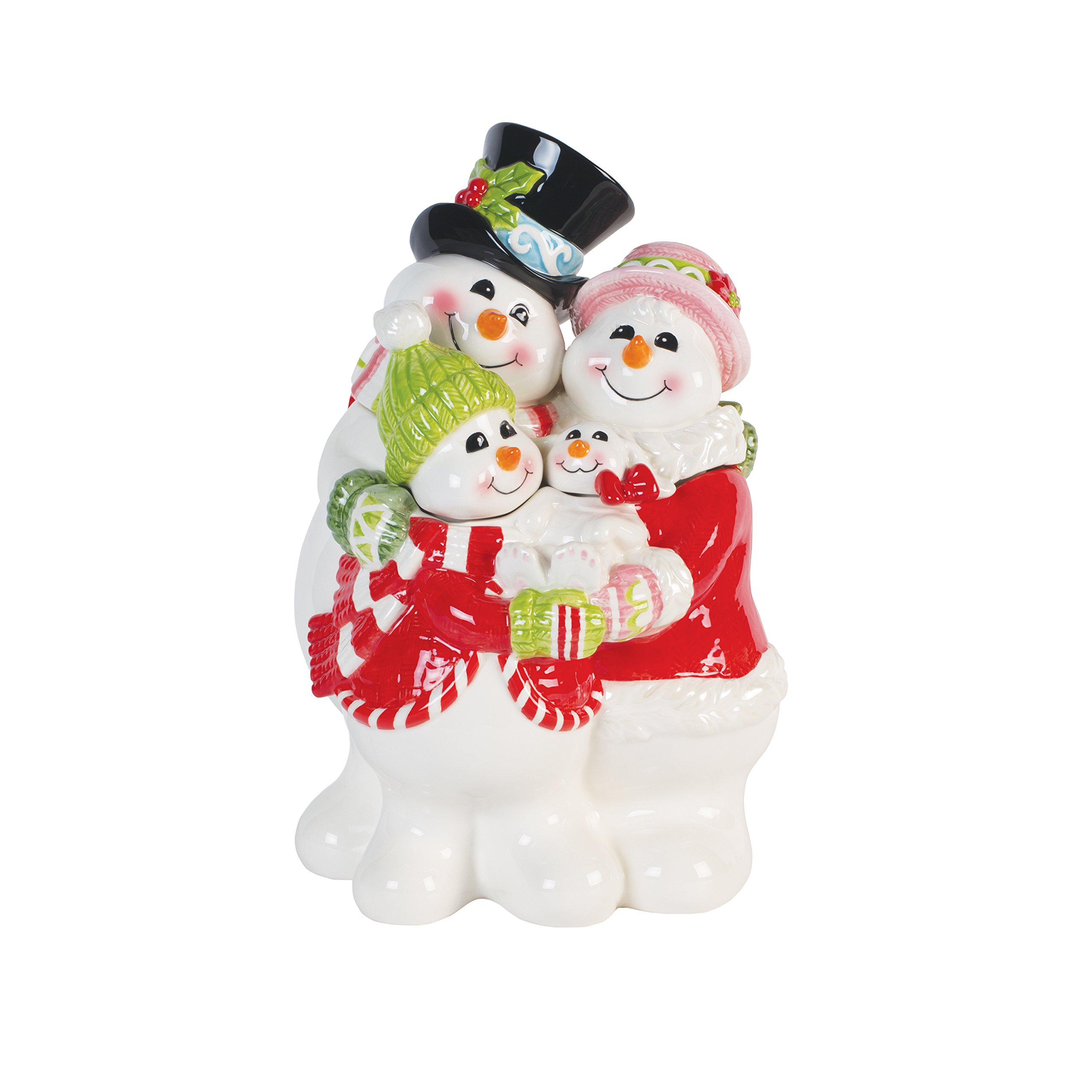 Fitz and Floyd 49-640 Flurry Folk, Cookie Jar by Fitz and Floyd