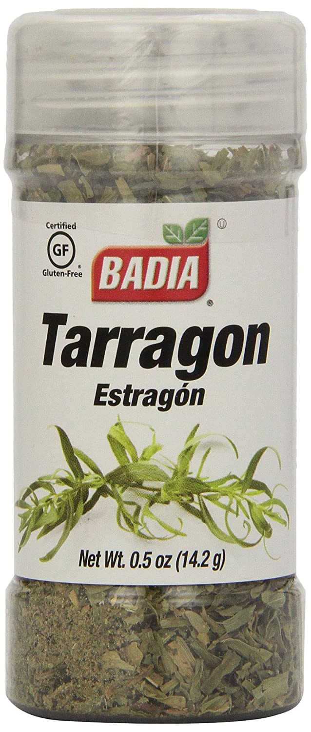 Amazon.com : Badia Tarragon, 0.5-Ounce (Pack of 12) : Tarragon Spices And Herbs : Grocery & Gourmet Food