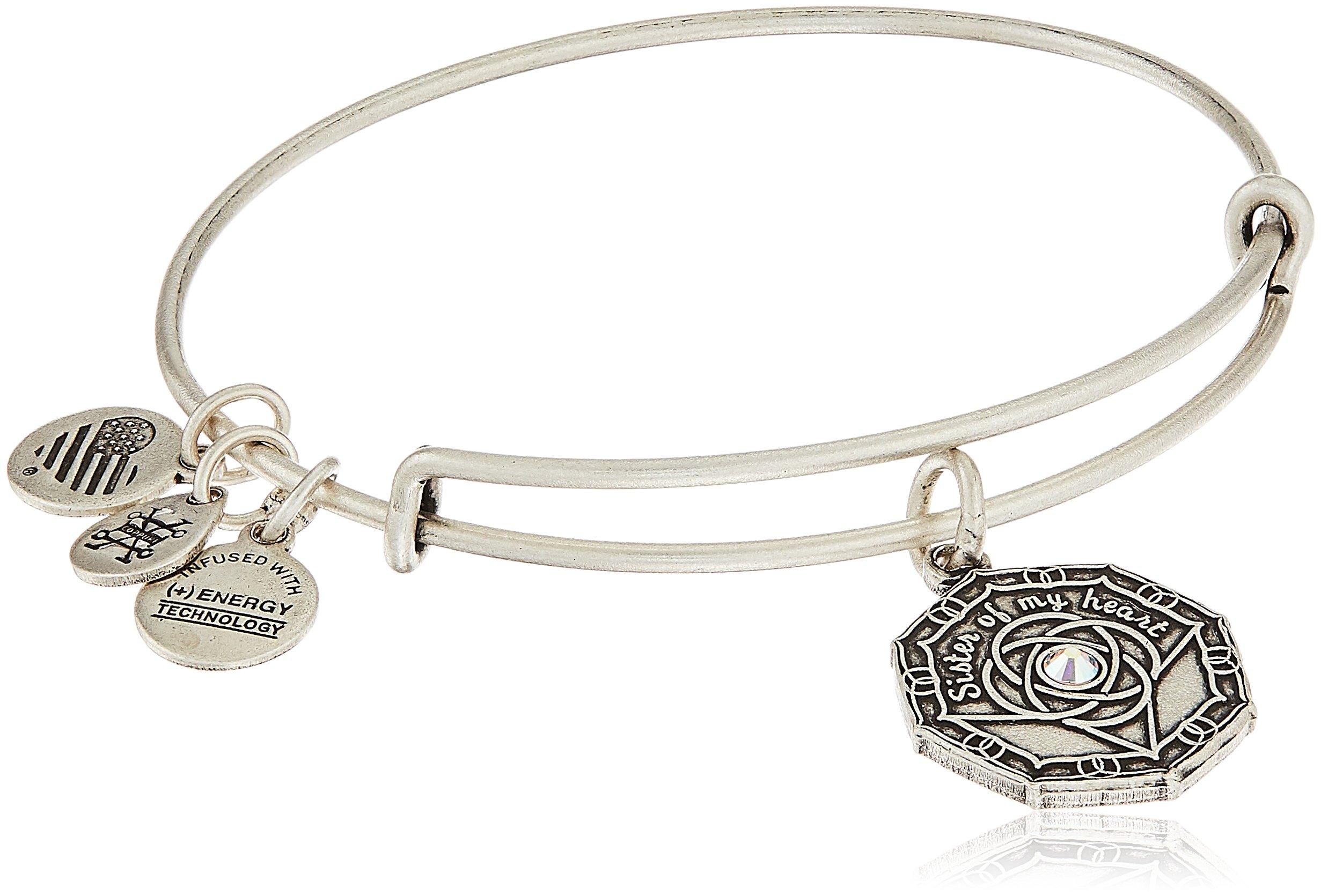 Alex and Ani Bridesmaid Rafaelian Silver Bangle Bracelet