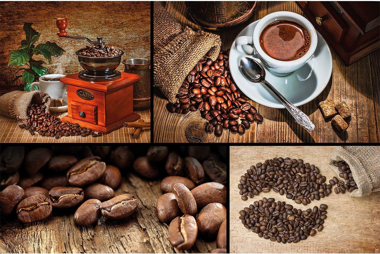 VLIES Fototapeten Tapete Trinken Kaffebohnen Kaffee Tasse Küche Foto 3FX10449VET