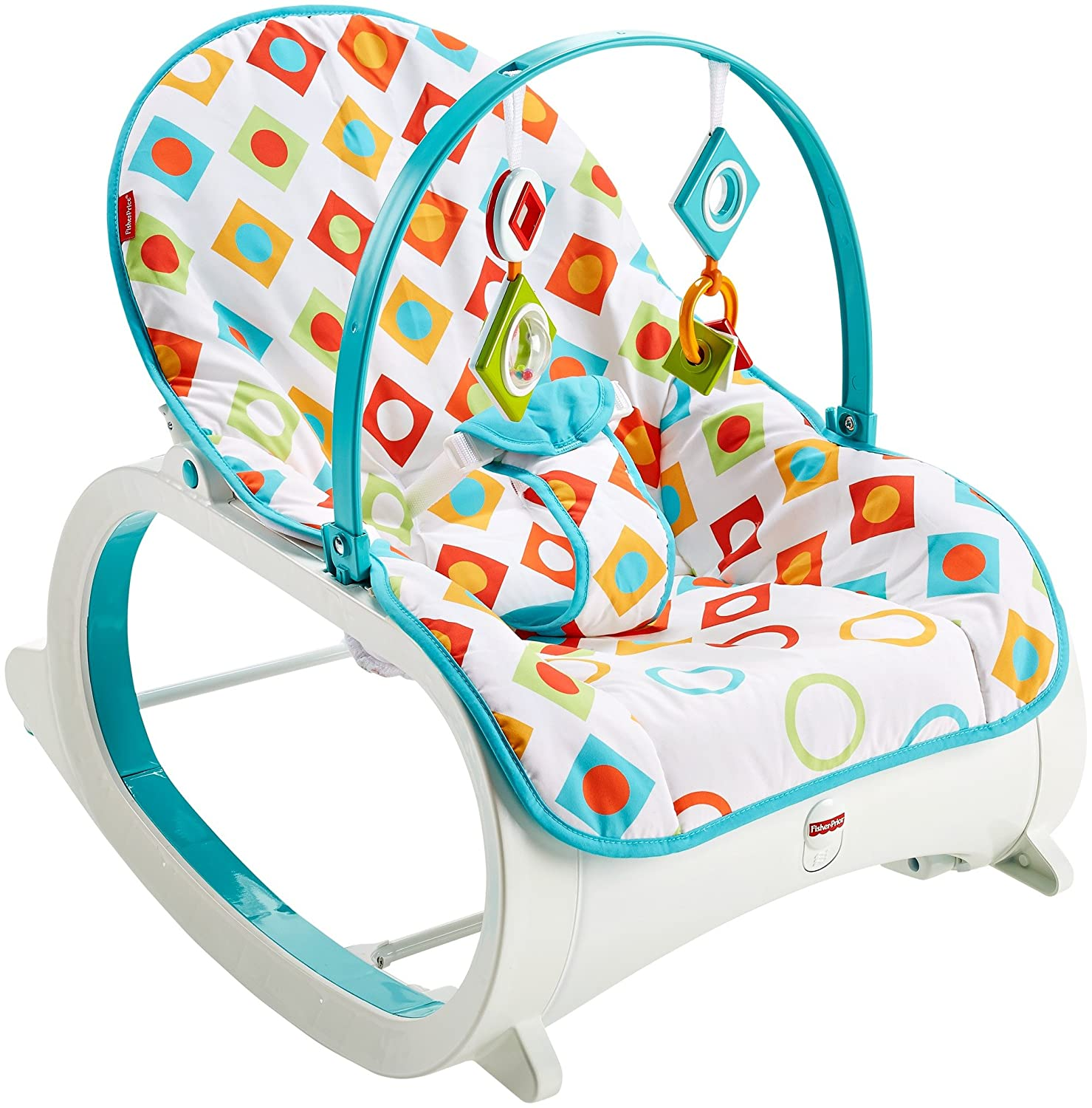 Buy Fisher-Price Infant to Toddler Rocker Geo Diamonds, Multi ...