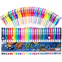 30-Count Gel Pens for Adult Coloring Books