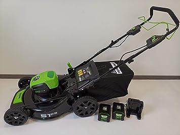 Greenworks Tools 80V acumulador cortacésped 51cm tracción a ...